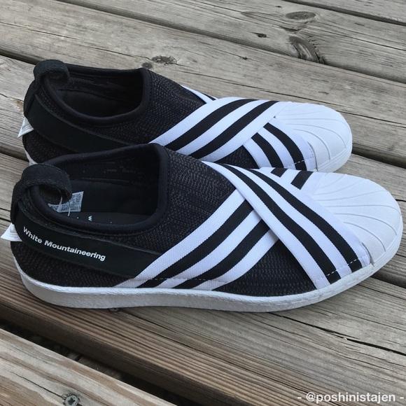 brand new 43e42 74c33 🆕NWT Adidas White Mountaineering Superstar Slipon NWT